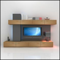 Modular - Mueble Para Ldc - Organizador - Living - Vajillero