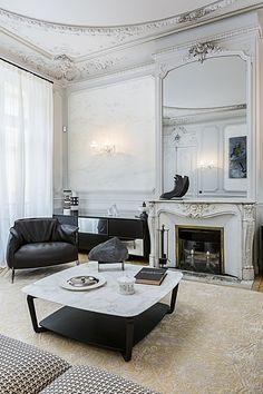 A gorgeous apartment decorated by Gérard Faivre, in Paris !!!!!