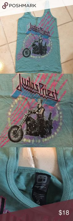 fb3e29e168d6ff Judas Priest metal band tank top punk rock Perfect unworn condition.  Woman s mediums Tops