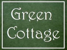 The Little Green Cottage on Willow Tree Lane White Cottage, French Cottage, Cottage Style, Cottage Chic, Cottage Names, Cottage Signs, Little Green House, House Names, Anne Of Green Gables