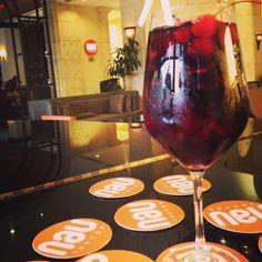 Deliciosa #Sangría en #Nau #Lounge