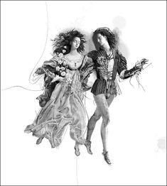 """Vladislav Erko - """"Roméo et Juliette"""" de Shakespeare Romeo And Juliet Drawing, Romeo And Juliet Poster, Art Eras, Romeo Y Julieta, Occult Art, Ukrainian Art, Old Art, Sculpture, Typography Prints"""