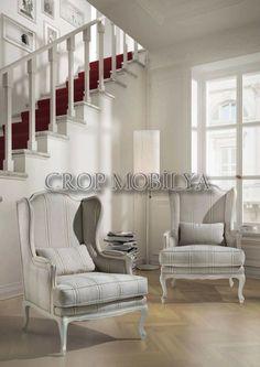 Oturma odanızda kullanacağınız berjer koltuk sizi rahatlığı ve konforuyla cezbedecektir.