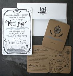 Custom Designed And Printed Party Invitations by erinpata on Etsy, $1.00