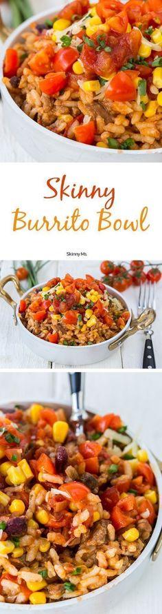 Get the recipe Skinny Burrito Bowls @recipes_to_go
