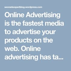 Online Advertising is the fastest media to advertise your products on the web. Online advertising has taken a revolutionary stage where these PPC advertising agency in Gurgaon are getting popular and a need of every business. #PpcProviderGurgaon #PpcProviderCompanyGurgaon #PpcServiceProviderCompanyGurgaon #PpcServiceProviderAgencyGurgaon #PpcProviderGurgaon