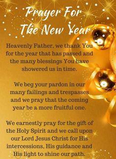 new year's prayer Faith Prayer, God Prayer, Power Of Prayer, Prayer Quotes, Spiritual Quotes, Biblical Quotes, Faith Quotes, Year Quotes, Quotes About New Year