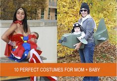 As a pretty new mom myself, having a great costume that can incorporate the new baby is much needed.