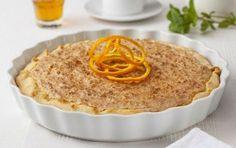 Ανοιχτή πίτα με μέλι και μυζήθρα - iCookGreek