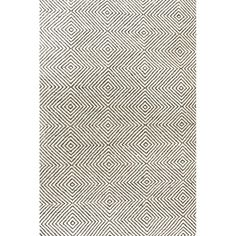 Nikia Handwoven Flatweave Wool Black Area Rug & Reviews | AllModern