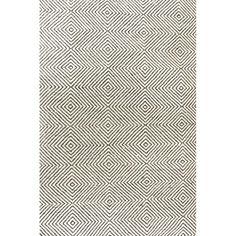 Nikia Handwoven Flatweave Wool Black Area Rug & Reviews | AllModern