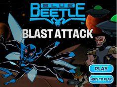 Blue Beetle Blast Attack game online Online Games For Kids, Play Online, Batman Games, Blue Beetle, Free Games, Cartoon Network, Fun, Movie Posters, Film Poster