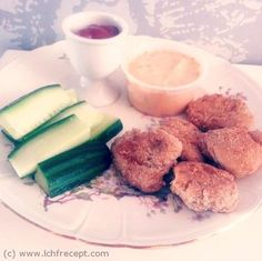 LCHF-Recept: LCHF chicken nuggets