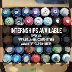 Thanks for all the applications!  Internships available in London! 1) Communications & Content Intern  2) Graphic Design & Video Intern  Apply via the links!