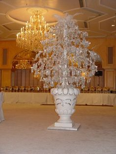Royal wedding cake  from Kuwait, this one looks like a tree and is so different