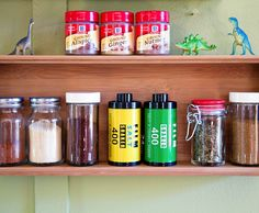 Film Roll Salt and Pepper Shakers - Spice up your food photography $15