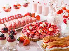 ストロベリーデザートフェア ヒルトン東京  Strawberry dessert fair@Hilton Tokyo  for sweets lovers.