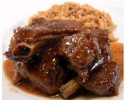 This Oxtail & Butter Beans Recipe is a classic Caribbean dish. It is comfort food at its best and it is a hearty meal made with affordable ingredients. The star ingredients are JCS Oxtail & Stew Seasoning and JCS Spicy Jerk Ketchup. Oxtail Recipes, Cuban Recipes, Cooker Recipes, Goat Recipes, Cooking Oxtails, Guisado, Butter Beans, Down South, Mets