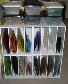 Stained glass storage