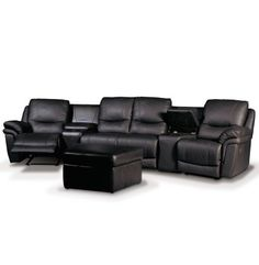 Patrick+Home+Theater+Seating+-+Black+Leather+Luxury