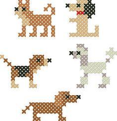 free simple dog breeds Ant of Sweden - The Needlework Shop - Cross stitch charts & Needlework kits
