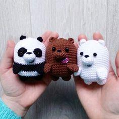 Mesmerizing Crochet an Amigurumi Rabbit Ideas. Lovely Crochet an Amigurumi Rabbit Ideas. Crochet Animal Patterns, Stuffed Animal Patterns, Crochet Patterns Amigurumi, Amigurumi Doll, Crochet Animals, Crochet Dolls, Amigurumi Tutorial, Tutorial Crochet, Afghan Patterns