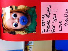 Preschool Valentine card