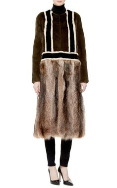 Marni Furs Pre-Fall 2015 Trunkshow Look 12 on Moda Operandi