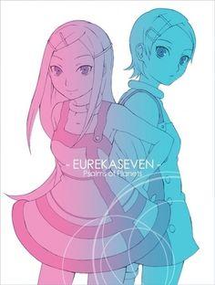 Anemone and Eureka - eureka-7 Fan Art