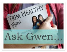 Trim Healthy Mama QA {Trim Healthy Tuesday}