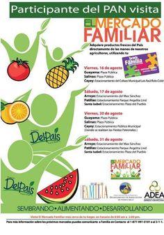 El MercadoFamiliar: Agosto 2013 #sondeaquipr #mercadofamiliar #guayama #salinas #cayey #arroyo #patillas #santaisabel