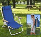 Deluxe Backpack Outdoor Chair - Featured in Sunday Times Good Gear Oct 12 - Aluminium Frame - Perfect for Camping, Fishing, Picnics, Beach, Festivals, Watching Sports