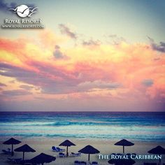 The wonderful colors of a Mexican Caribbean sunset... Enjoy your day! :)