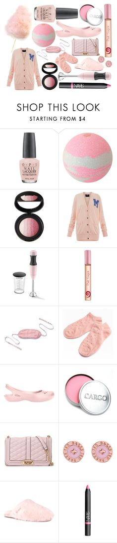 """10,000 Likes: Cotton Candy Cute"" by rachael-aislynn ❤ liked on Polyvore featuring OPI, Markus Lupfer, KitchenAid, Pink Sugar, kumi kookoon, Crocs, Rebecca Minkoff, Ted Baker, UGG Australia and NARS Cosmetics"