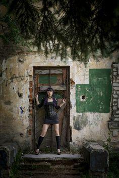 gothic, goth girl, alternative model