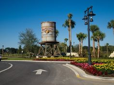 The Villages, Florida, Brownwood water tower