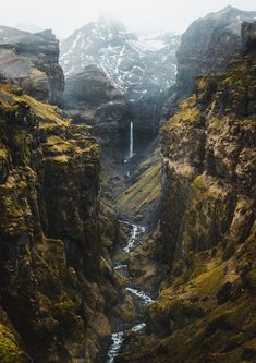 Check out the birds for scale - Canyon Iceland. Check out the birds for scale -Canyon Iceland. Check out the birds for scale - Canyon Iceland. Check out the birds for scale - Landscape Photography Tips, Landscape Photographers, Beauty Photography, Travel Photography, Mountain Photography, All Nature, Amazing Nature, Beautiful World, Beautiful Places