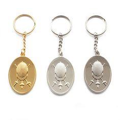 Set of three Fencers Keyring: I LOVE FENCING Keychain