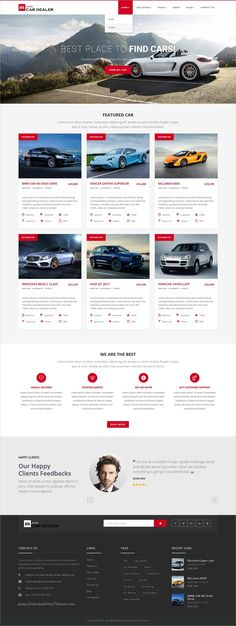Auto car dealer is a wonderful responsive 2in1 #HTML bootstrap #template for perfect #automobile, workshop or car shop websites download now➩ https://themeforest.net/item/auto-car-dealer-car-dealer-html-template/19227801?ref=Datasata