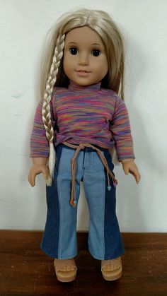 78c54876d5f2 American Girl Doll Julie Albright in RETIRED Meet Outfit  AmericanGirl   DollswithClothingAccessories American Girl Doll