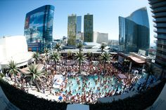 Marquee Dayclub, The Cosmopolitan of Las Vegas: Looking to be at the forefront of the electronic dance music and daytime lounge scene? This is the pool.