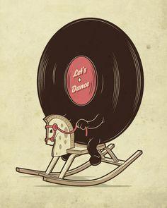 Happy weekend ya'll! #letsdance #vinyllovers #itstheweekend