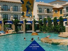Sun is shining weather is sweet! Come to the pool at Hotel La Laguna Spa & Golf.