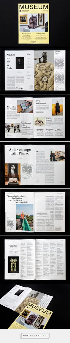 MUSEUM — Program & Magazine SMB on Behance... - a grouped images picture - Pin Them All