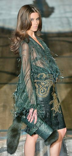 Roberto Cavalli Lose the fur and this would be divine.