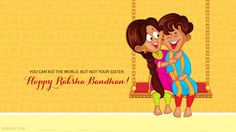 40 Beautiful Raksha Bandhan Greetings Cards and Wallpapers. Read full article: http://webneel.com/raksha-bandhan-messages-greetings-wallpapers | Follow us www.pinterest.com/webneel