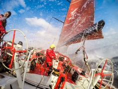 Volvo Ocean Race - Sanya to Auckland - S Greenfield sur Dongfeng