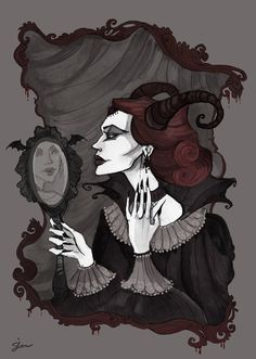 Elizabeth Bathory portrait by IrenHorrors.deviantart.com on @deviantART