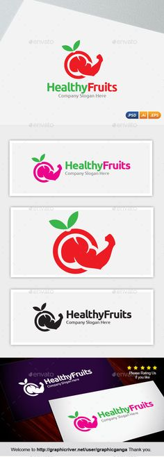 Healthy Fruit (Vector EPS, AI Illustrator, Resizable, CS, diet, dieting, exegesis, fast food, fitness, fruit, gym, healthy fruit, restaurant, vegetable)