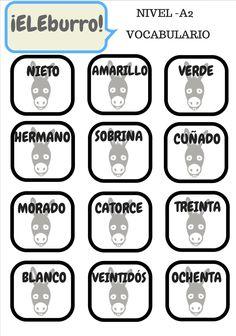 El juego del burro en clase de ELE  http://www.eleinternacional.com/eleburro-el-juego-de-vocabulario-y-cultura-que-sorprendera-a-tus-alumnos/